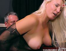 German neighbor housewife on her first swinger party