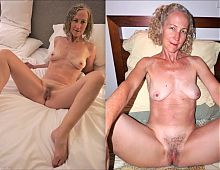 0009 Nude pussies of mature grannies