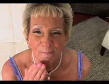 75yr old Granny Sandra Ann Loves Sucking and Fucking
