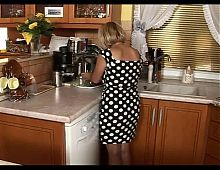 Little Mature Enjoy Sex In The Kitchen