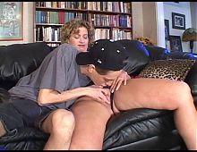 Older Milf Teaches Boy About Whoring