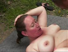 BBW Slutty Tobie dogging