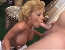 What is her name? Blonde mature