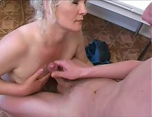 Russian mature slut