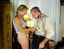 Mature Beautiful Blonde Loves Taking Cock