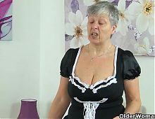 British granny Savana will serve all your needs