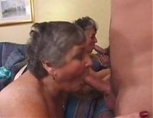 Libby Ellis and her friend Carol fuck young boys in the hote