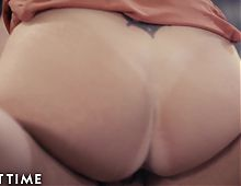 ADULT TIME Busty Mature Darla Fucks Young Stud Boss at Work