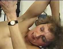 Mature gets her twat drilled by a young cock