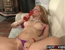 Blonde GILF can still Fuck Wild and Crazy