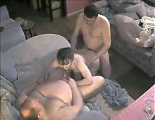 Mature Chubby Bi Threesome