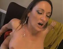 Brunette Milf takes in Deep
