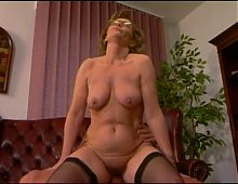 mature receptionist slut