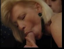 Super sexy Granny Sucking and fucking
