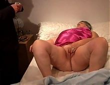 Only a doctors cock can cure an old fat whore!