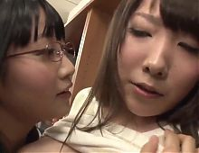 Teenage Japanese Slut Seduces Her MILF Teacher....