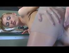 A strict anal boss! Russian Mature Amateur!
