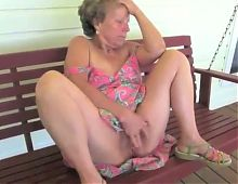 Mature Woman Gets Naked