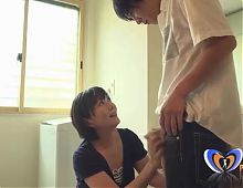 Japanese Mature Housewife Fucked