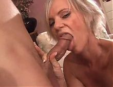 Old milf just wants some dick