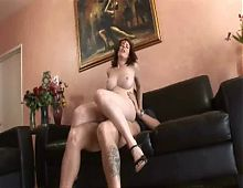 Sweet mom with hairy bushy cunt!