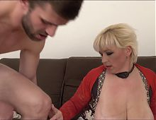 British Mommy Big Tits