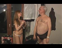 She loves old men- 6,cut 1(#grandpa #old man #dad)