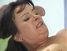 Hairy mature bitch