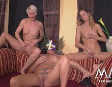 MMV FILMS The Teen, the Milf and the Mature