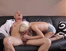 DADDY4K. Blonde cutie wants to have hot sex with experience