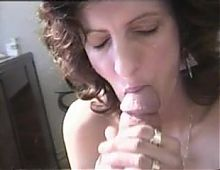 Mature POV blowjob