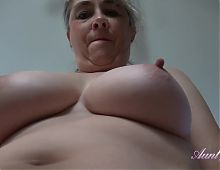 Big Tit Texas Auntie Grace Works Out with You POV